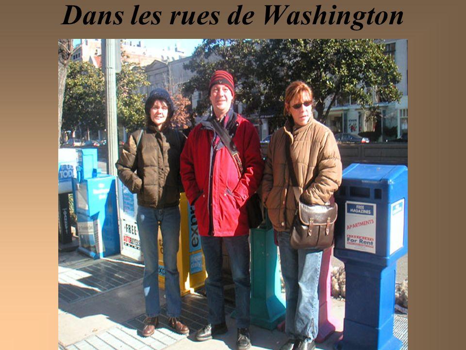 Dans les rues de Washington