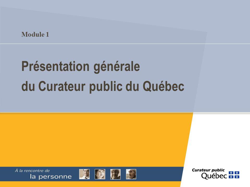 26 Le Curateur public du Québec et son organisation financière Son budget de fonctionnement est constitué de crédits accordés annuellement et dhonoraires exigés pour les services rendus aux personnes sous régime de protection.