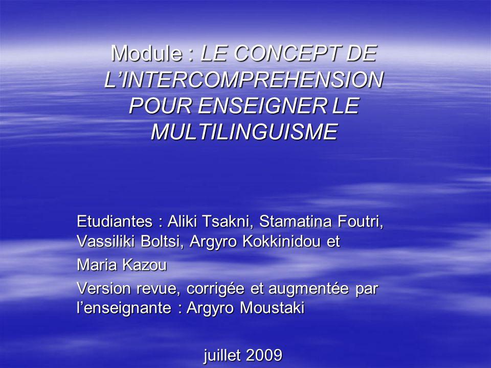 Grâce au format de la page et à leurs connaissances linguistiques, elle sont en mesure de cerner les similitudes entre les langues.
