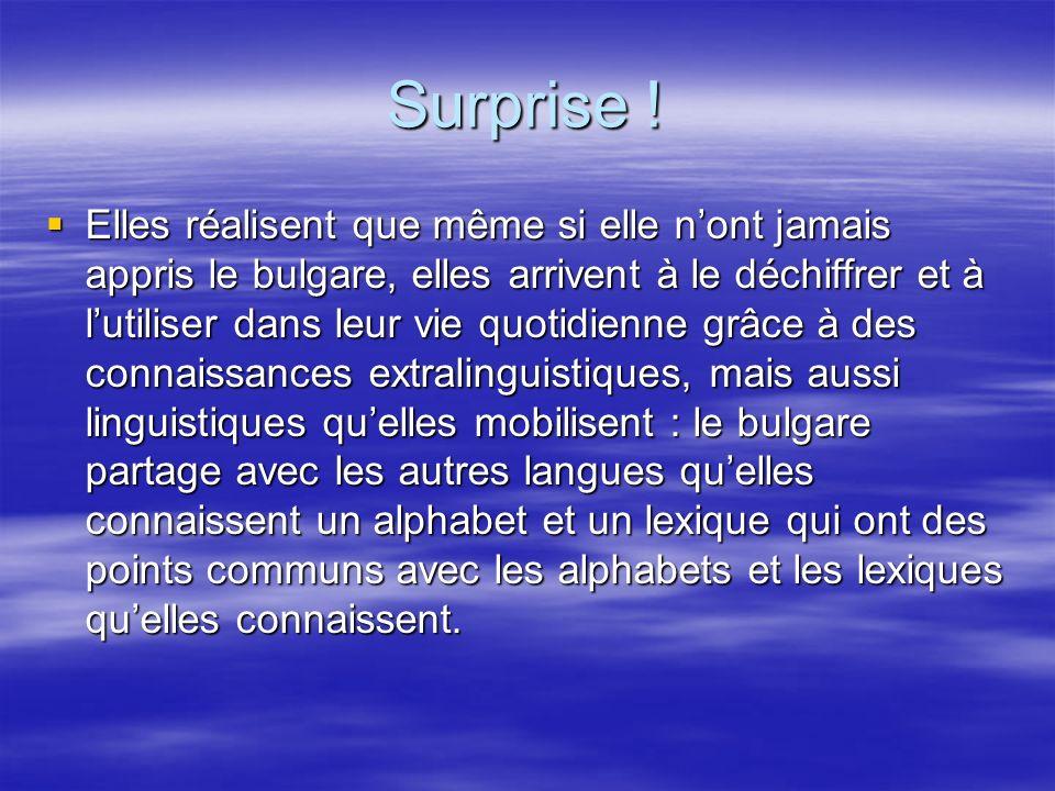 Surprise .