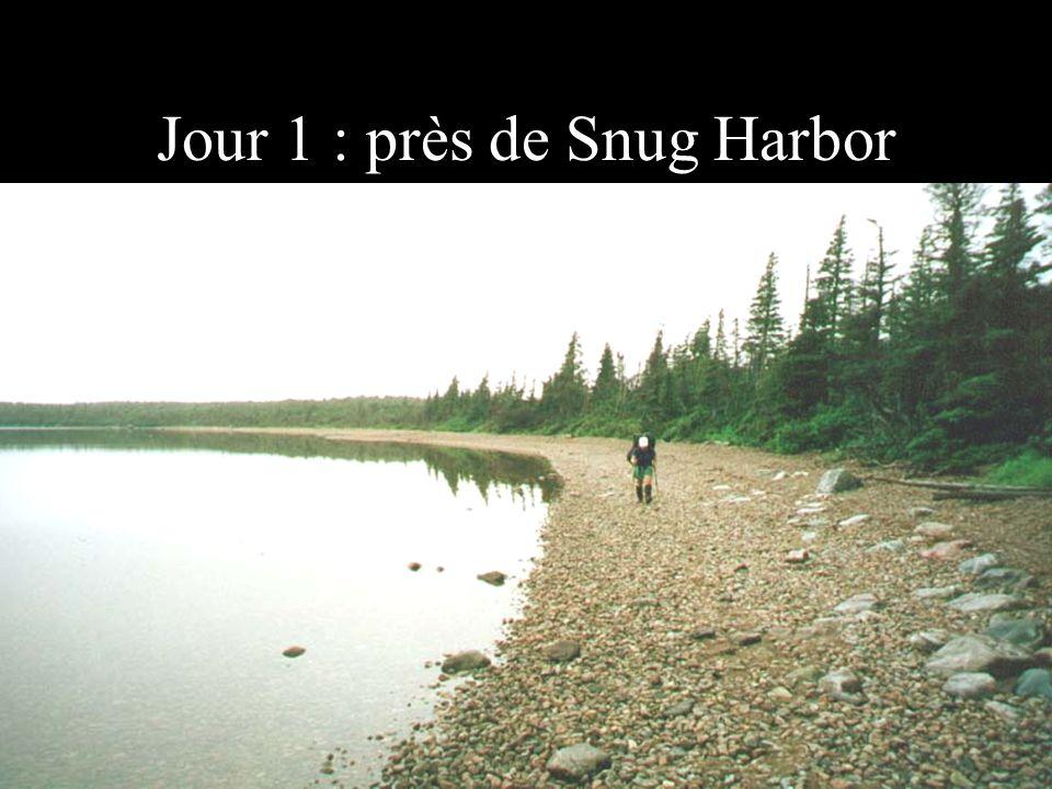Jour 1 : près de Snug Harbor