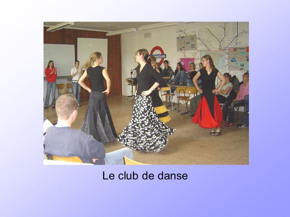 Le club de danse