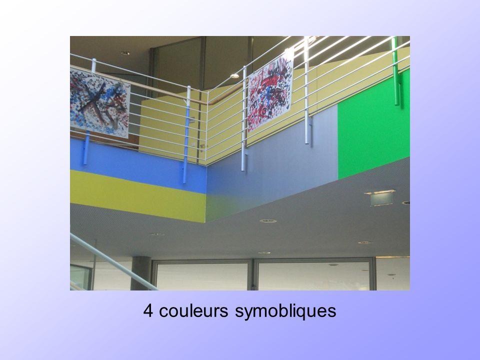 4 couleurs symobliques