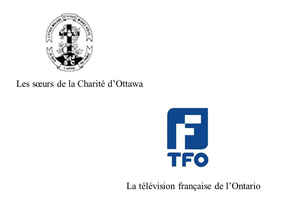 Les sœurs de la Charité dOttawa La télévision française de lOntario