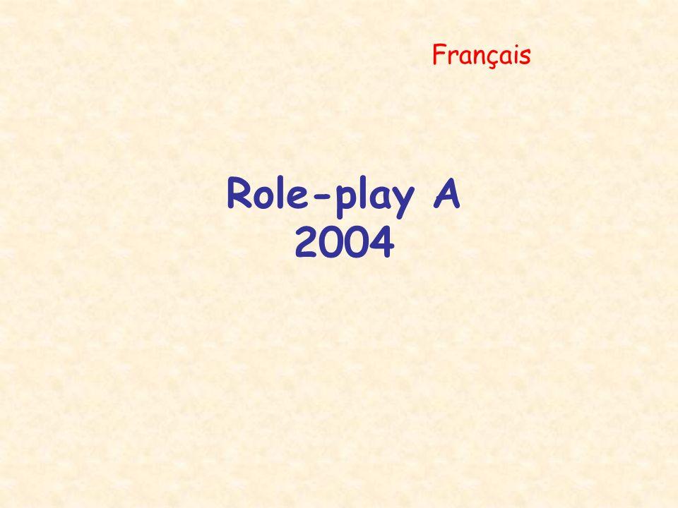 Role-play A 2004 Français