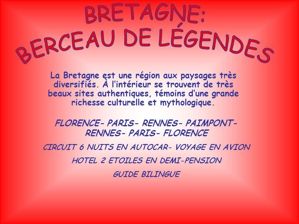 La Bretagne est une région aux paysages très diversifiés.