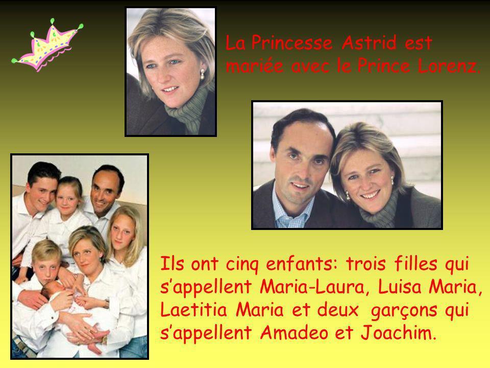Le Prince Philippe est marié avec la Princesse Mathilde.