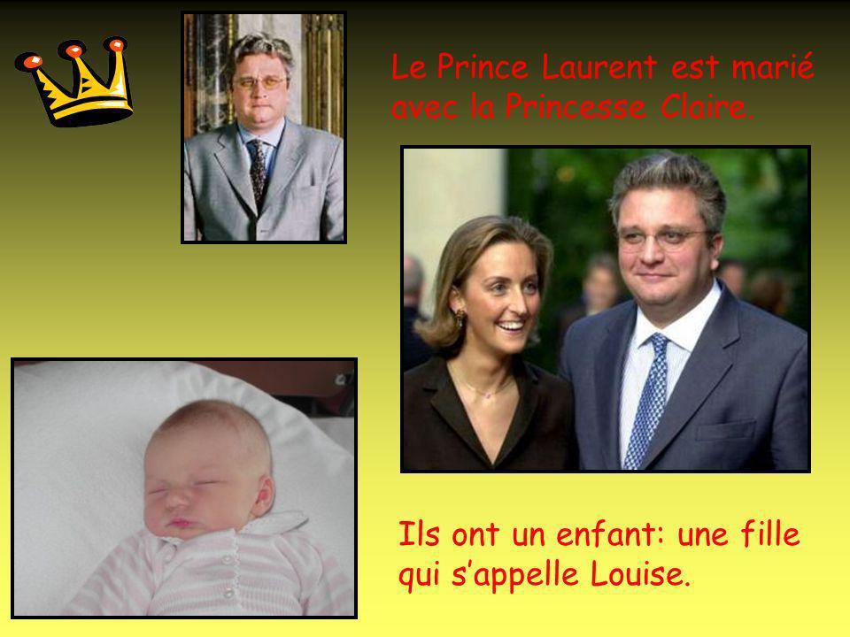 La Princesse Astrid est mariée avec le Prince Lorenz.