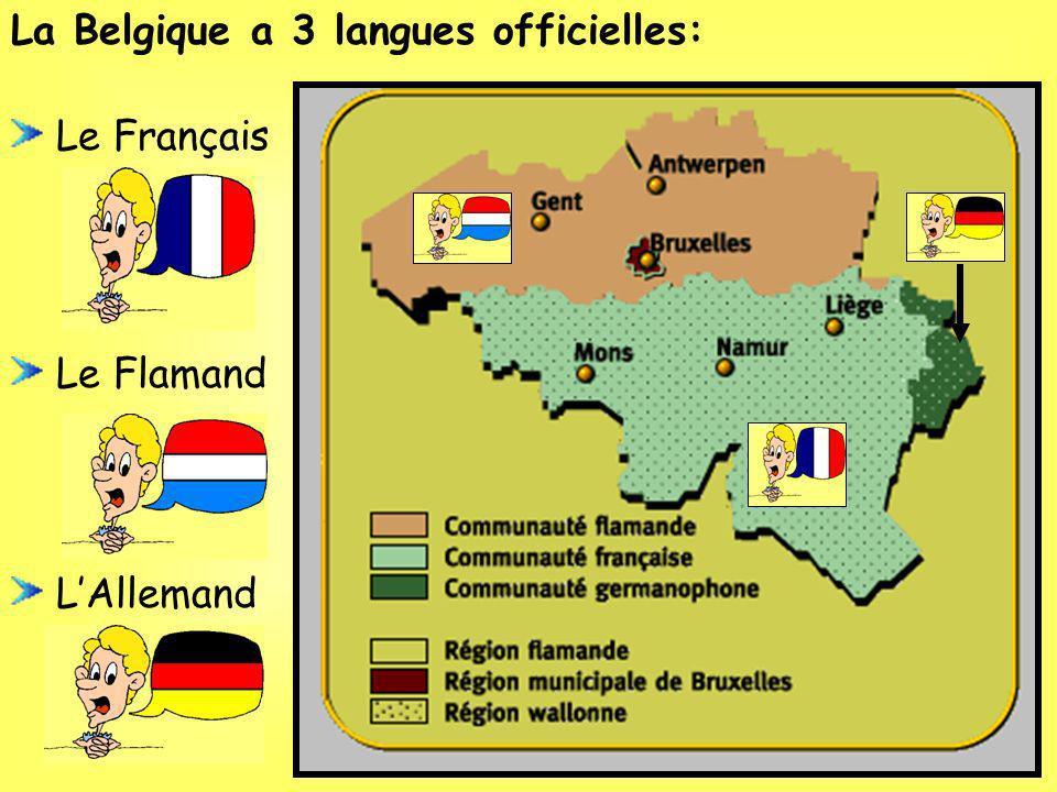 La Belgique est divisée en 10 provinces. Chaque province a une capitale.