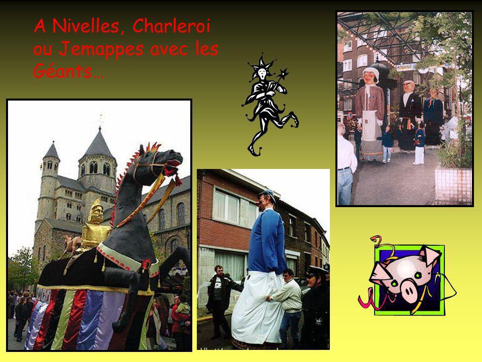 A Andenne avec le carnaval des Ours…