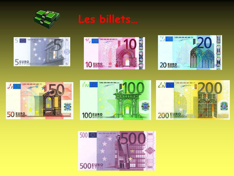 Les pièces… Les cents… Les euros… La monnaie sappelle LEURO 1,00 = about $1.00
