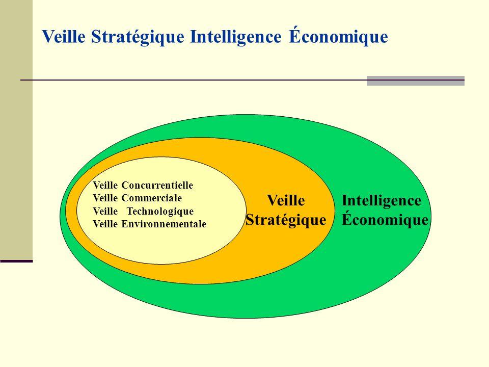 Veille Concurrentielle Veille Commerciale Veille Technologique Veille Environnementale Veille Stratégique Intelligence Économique Veille Stratégique Intelligence Économique