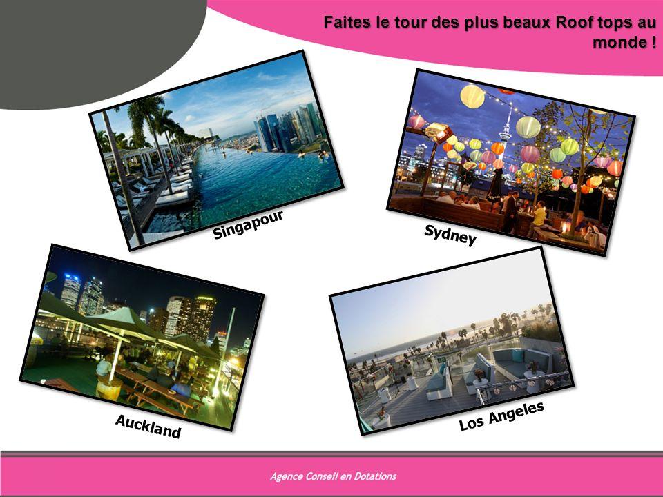 9 Faites le tour des plus beaux Roof tops au monde ! Sydney Auckland Singapour Los Angeles