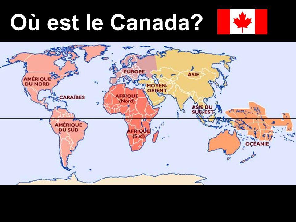 Où est le Canada?