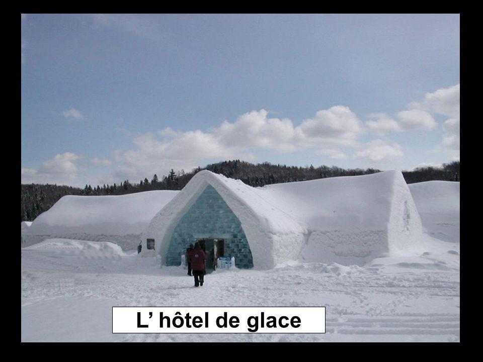 L hôtel de glace