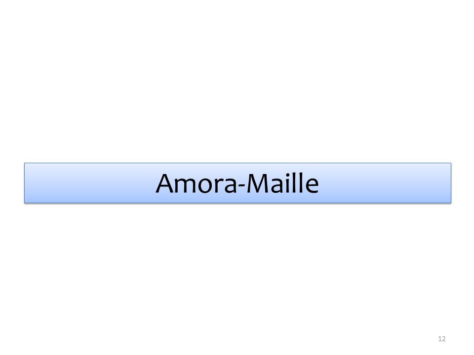 Amora-Maille 12