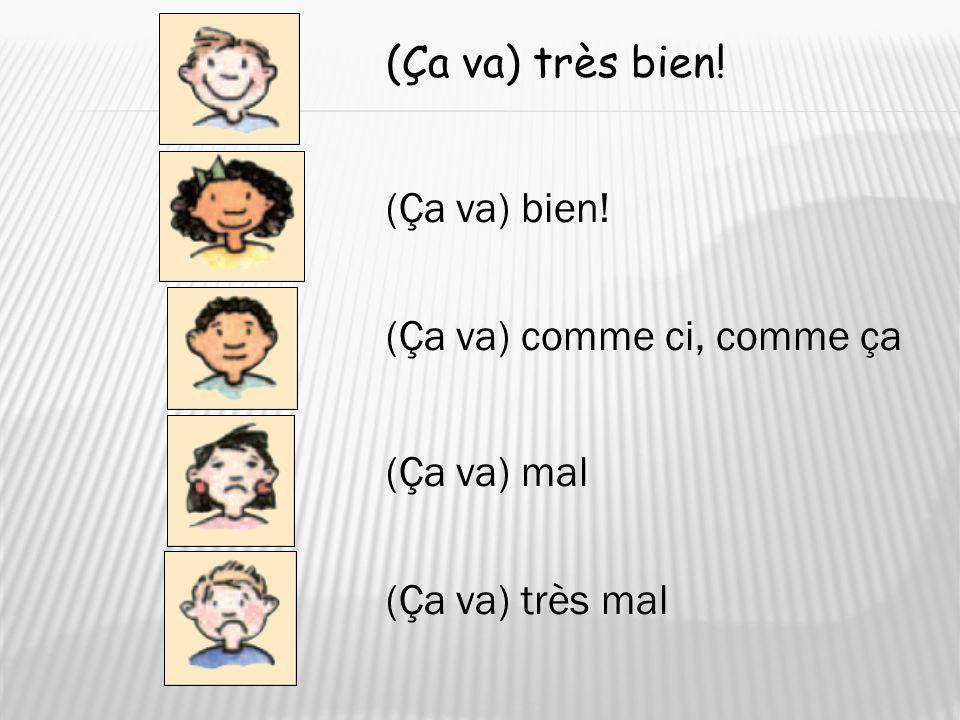 Voici …This is… Here come(s) … Ex: Voici Olive. Voilà …Theres … Ex: Voilà Xavier et Alice.