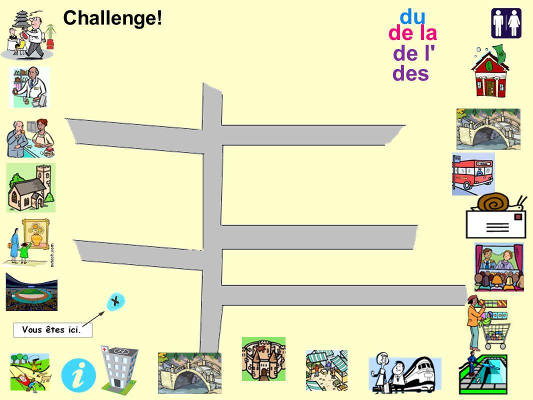 Challenge! de l des de la du