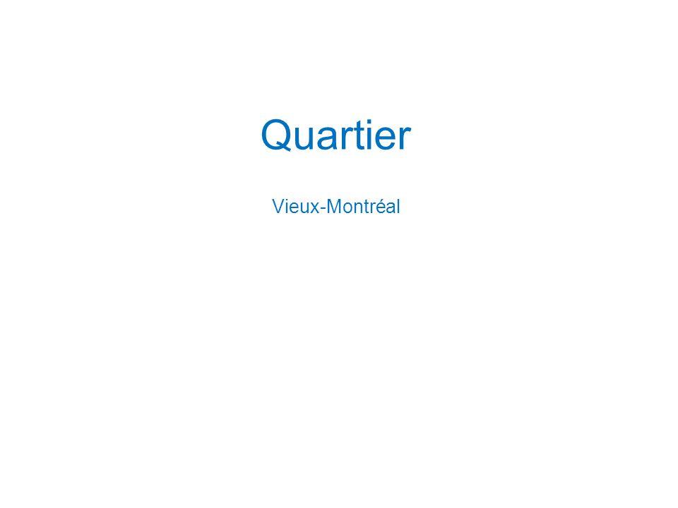 Quartier Vieux-Montréal