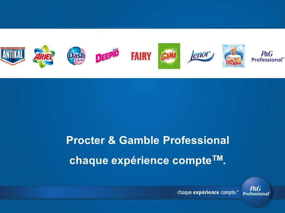 Procter & Gamble Professional chaque expérience compte TM.