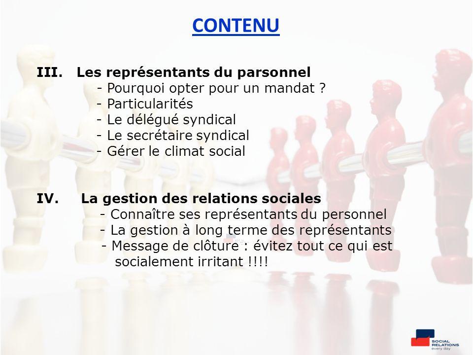 QUESTIONS 6.Que trouvez-vous le plus difficile dans la gestion des représentants du personnel .