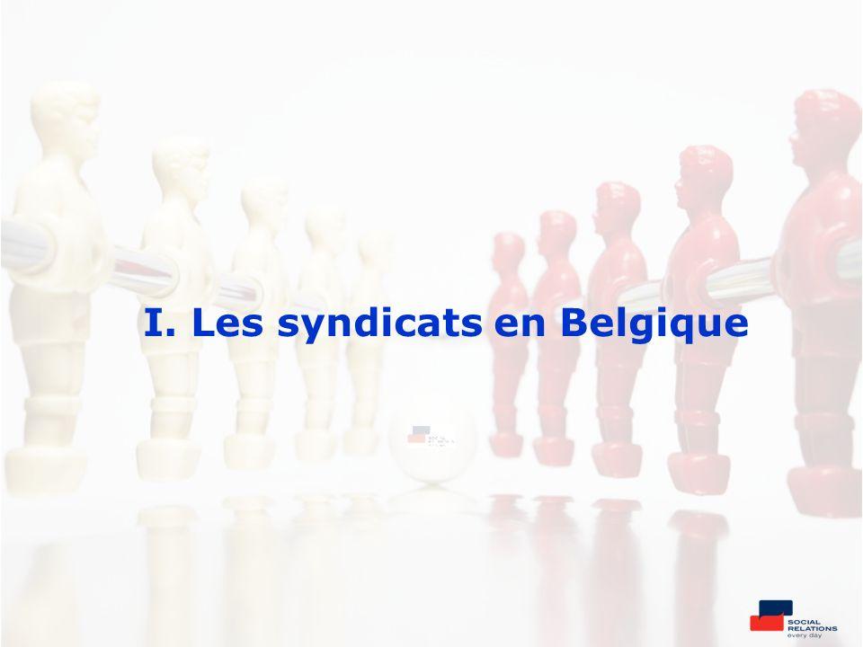 I. Les syndicats en Belgique