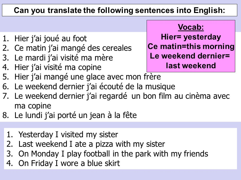 À deux: use the words to make the following sentences ** Can you do these alone.