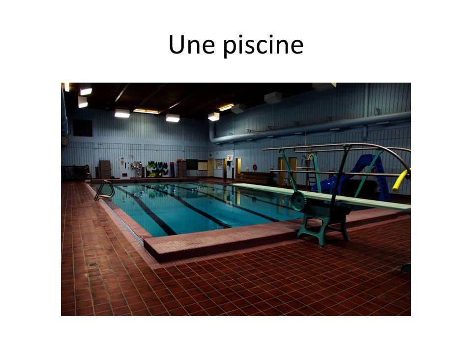 Une piscine