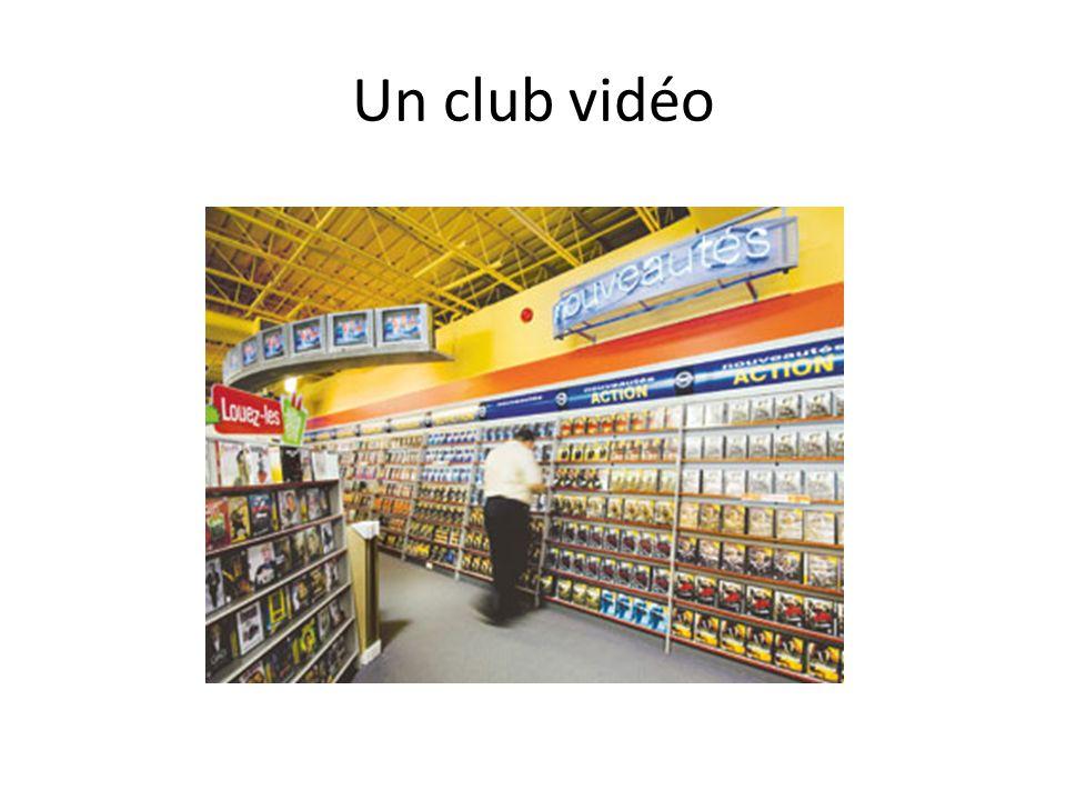 Un club vidéo