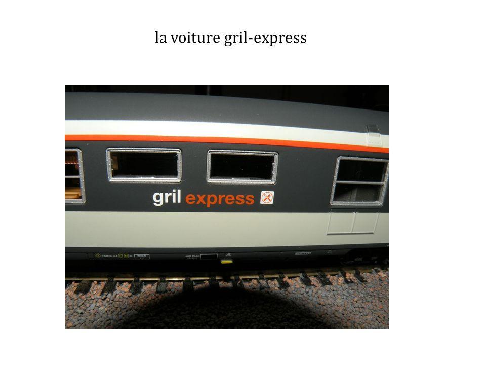 la voiture gril-express