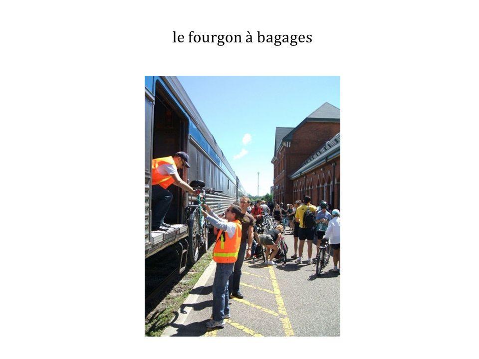 le fourgon à bagages