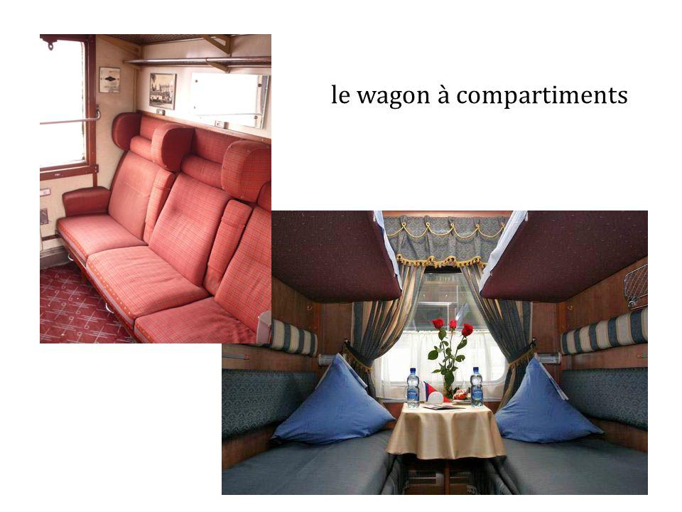 le wagon à compartiments