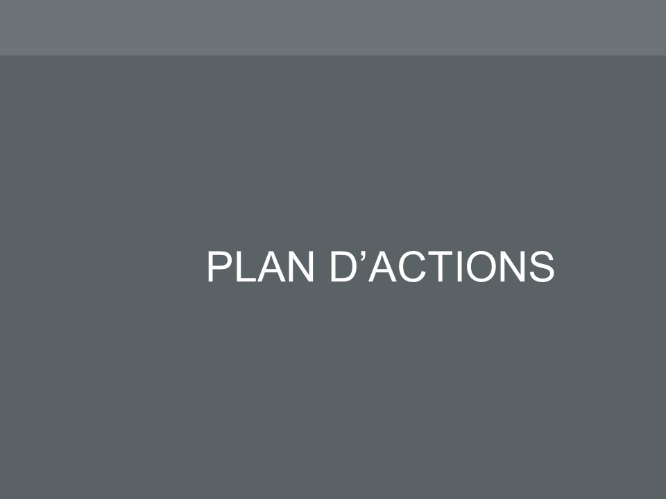 PLAN DACTIONS