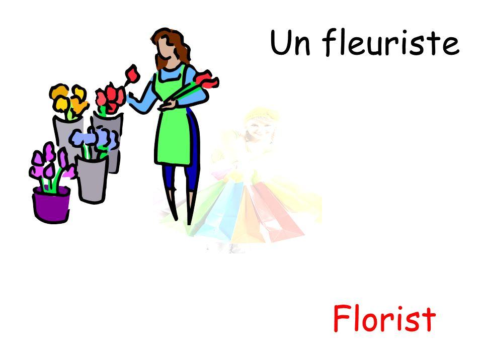 Un fleuriste Florist
