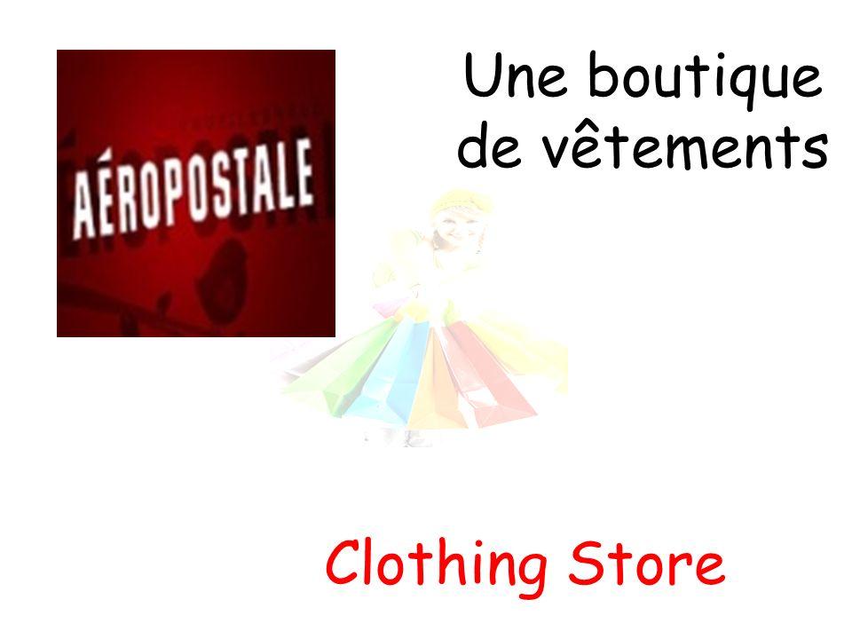 Une boutique de vêtements Clothing Store