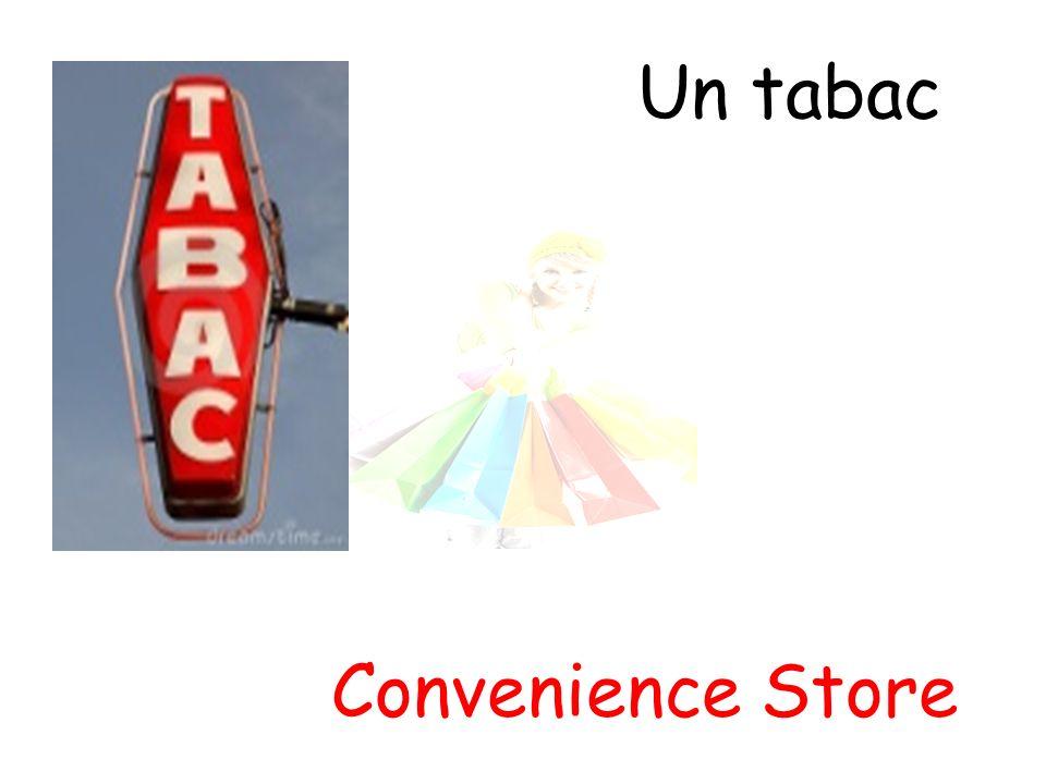 Un tabac Convenience Store
