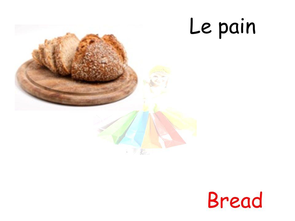 Le pain Bread