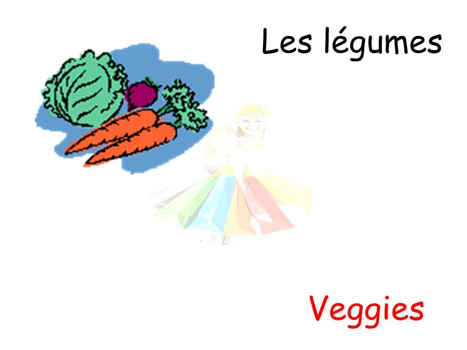 Les légumes Veggies