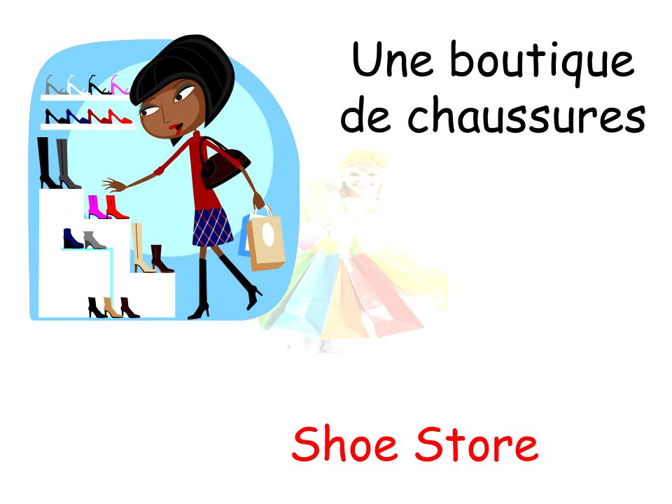 Une boutique de chaussures Shoe Store