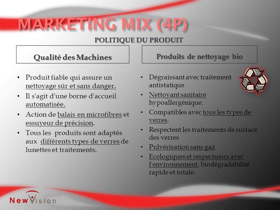 POLITIQUE DU PRODUIT Qualité des Machines Produits de nettoyage bio Dégraissant avec traitement antistatique Nettoyant sanitaire hypoallergénique. Com