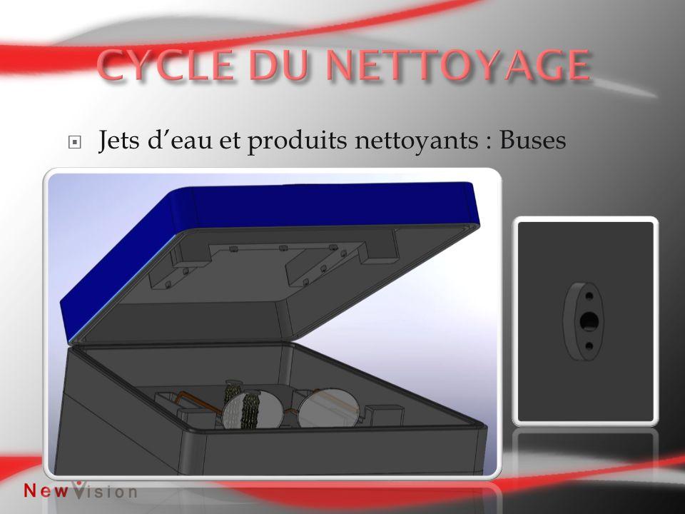 Jets deau et produits nettoyants : Buses