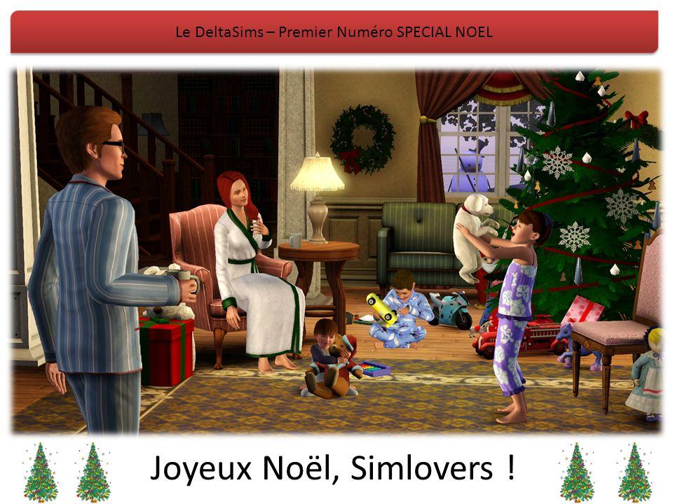 Le DeltaSims – Premier Numéro SPECIAL NOEL Joyeux Noël, Simlovers !