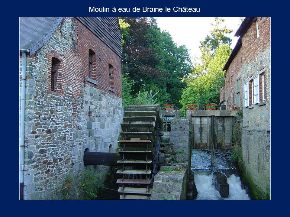 Moulin à eau de Braine-le-Château