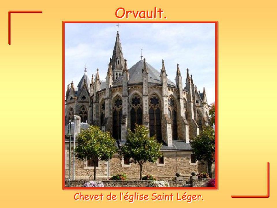 Orvault. Chevet de léglise Saint Léger.