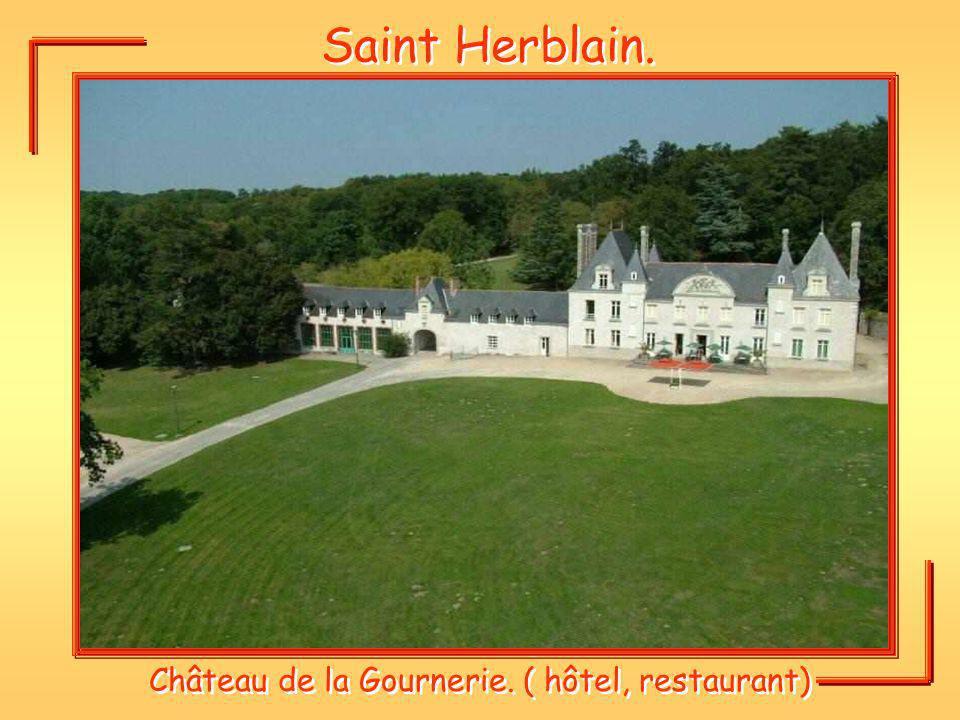 Saint Herblain. Château de la Gournerie. ( hôtel, restaurant)