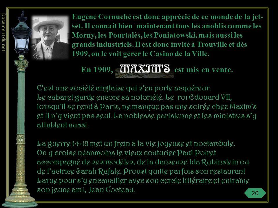 Cocteau, jeune ami de Proust, dira : « cétait un amoncellement de dentelles, velours, satin, rubans, diamants, rubis, perles…. Que déshabiller une de