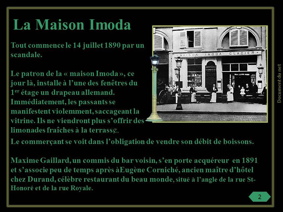 « Le Boeuf sur le toit » chez Pièce burlesque de Jean Cocteau des années 1920 qui devient une fantaisie musicale grâce au génie de Darius MiIlhaud.