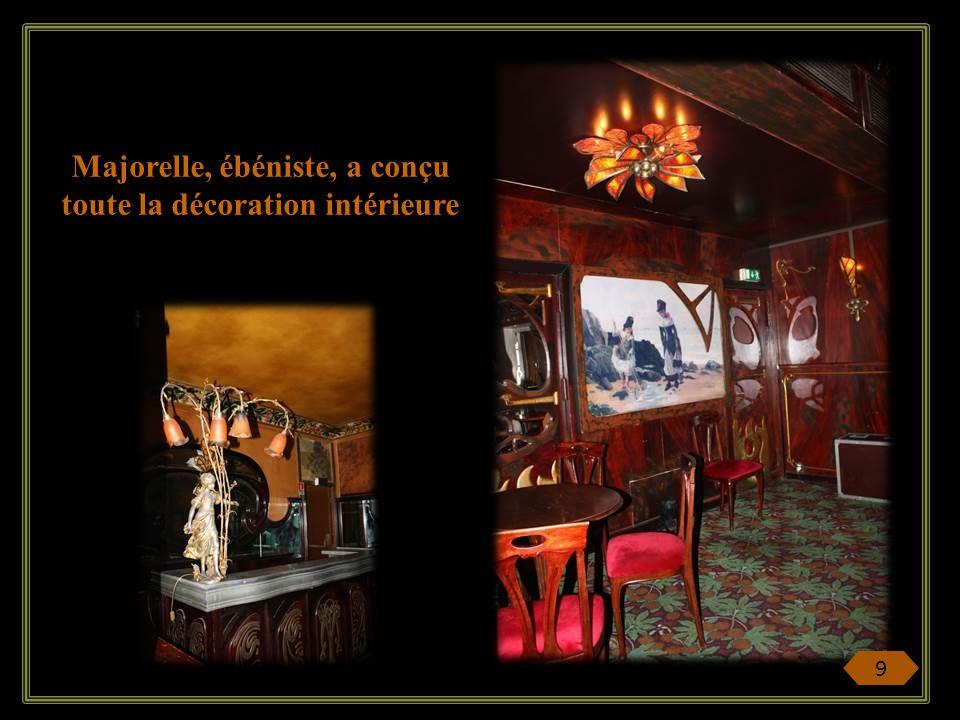 Majorelle, ébéniste, a conçu toute la décoration intérieure 9