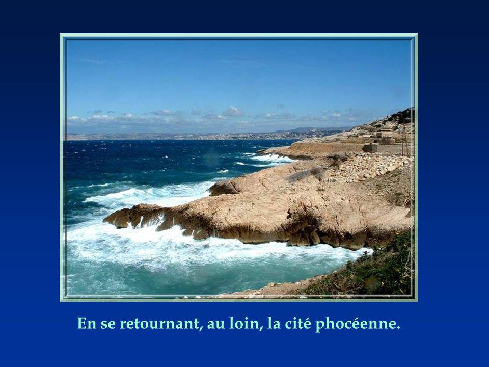 De façon surprenante, toute cette zone préservée des calanques à lest de Marseille, fait partie intégrale de la ville! Cest le 8ème arrondissement… Po