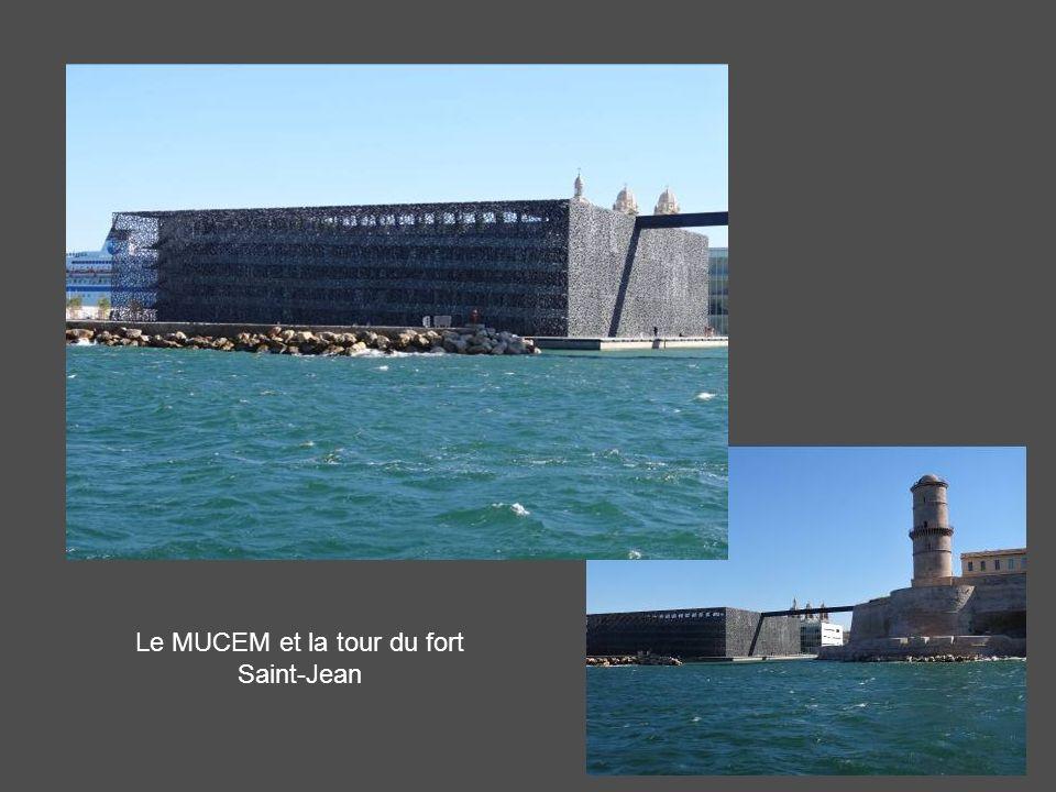 Le MUCEM et la tour du fort Saint-Jean